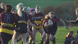 Heidi Lawson on the charge against Ampthill Ladies