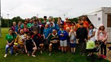 Some of the players, supporters, children and helpers at the Biggleswade Carnival Touch Tournament at Biggleswade Rugby Club. Photo by Nadine Grummitt.